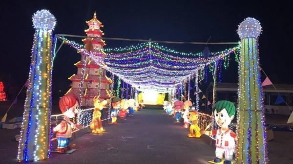 Trung thu này, tha hồ sống ảo con đường đèn lồng khổng lồ, đại tiệc âm nhạc ngay sát Nam Định
