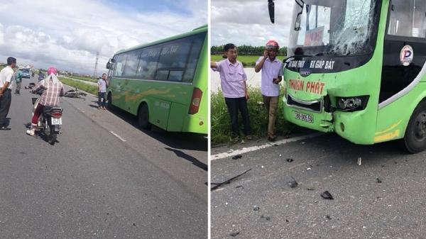 Nam Định: Xe máy đâm trực diện với xe khách, 2 thanh niên t.ử v.ong ngay tại chỗ