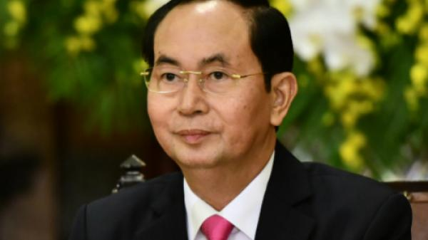 TIN BUỒN: Chủ tịch nước Trần Đại Quang qua đời