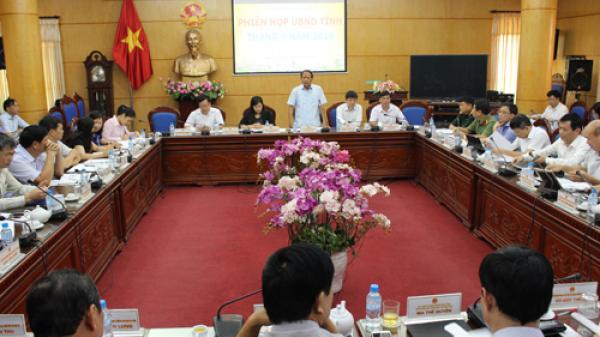 UBND tỉnh Bắc Kạn họp phiên thường kỳ tháng 9