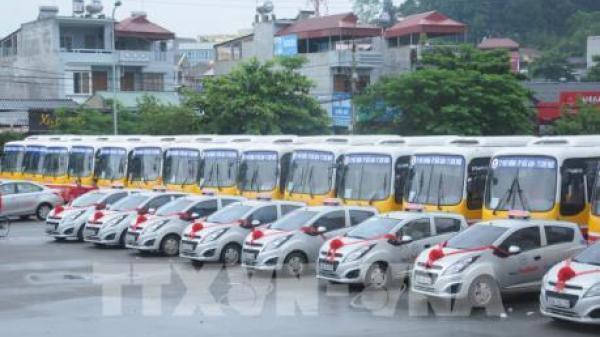 Khai trương tuyến xe bus đầu tiên của tỉnh Bắc Kạn