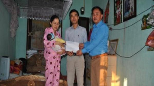 LĐLĐ tỉnh Bắc Kạn hỗ trợ kinh phí chữa tim bẩm sinh cho con đoàn viên