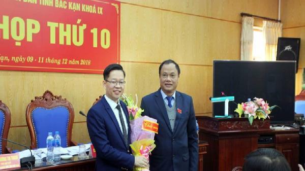 Ông Đinh Quang Tuyên được bầu giữ chức Phó Chủ tịch UBND tỉnh Bắc Kạn