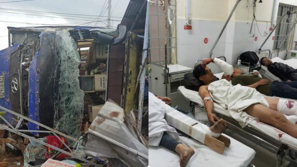 Vụ xe khách BKS Thái Bình lao vào nhà dân: 38 người bị thương, nhiều người ng.uy k.ịch