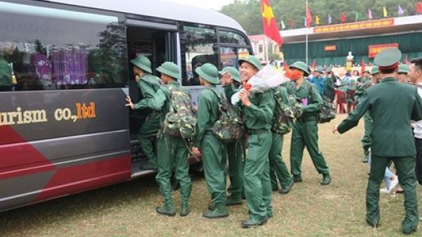 Xúc động thanh niên tỉnh Thái Bình viết đơn tình nguyện nhập ngũ