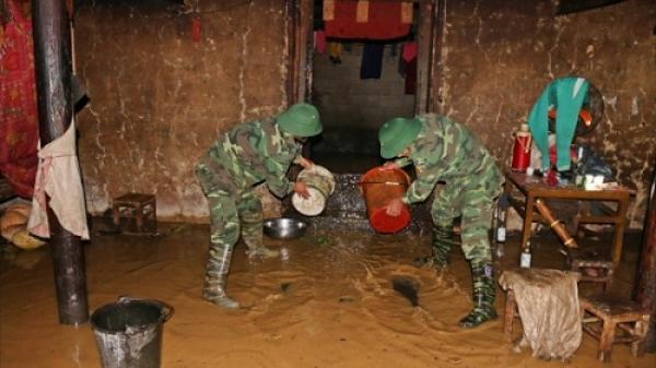 Mưa lớn gây sạt lở, ngập lụt tại Bắc Kạn và nhiều tỉnh miền núi phía Bắc
