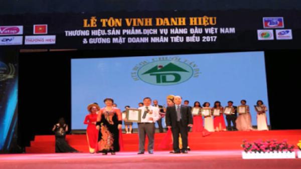"""Sản phẩm của Bắc Kạn vinh dự lọt TOP 10 """"Thương hiệu, sản phẩm, dịch vụ hàng đầu Việt Nam - 2017"""""""