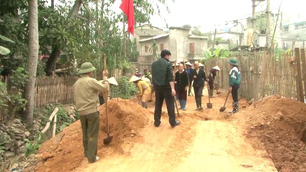 Nông dân toàn tỉnh đóng góp gần 60 triệu đồng xây dựng nông thôn mới