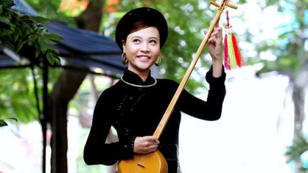 Nhạc cụ trong múa then của dân tộc TÀY