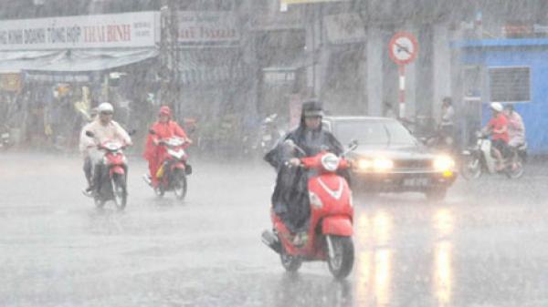 Cảnh báo mưa lớn diện rộng, lũ trên nhiều sông