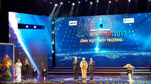Nông dân Bắc Kạn tự hào được vinh danh trong đêm trao giải Nhân tài đất Việt 2017