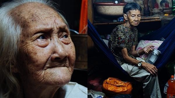 Thương cảm: Cụ bà 92 tuổi suốt 60 năm bán bánh sùng, nhặt ve chai nuôi con gái tâm thần