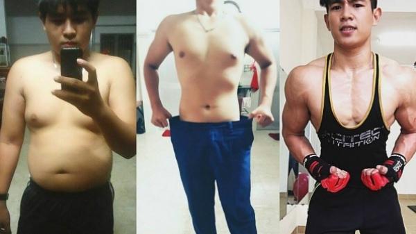 Chàng trai 'béo ú' quê Bạc Liêu lột xác thành hot boy sau khi giảm 20kg