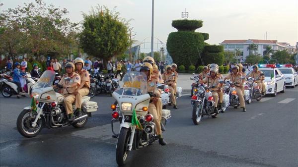 Bạc Liêu ra quân năm An toàn giao thông 2018