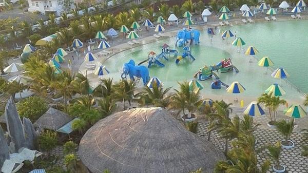 """Ngay gần Kiên Giang có bãi tắm nhân tạo lớn nhất miền Tây, """"đẹp ngất ngây - chơi mê say"""""""