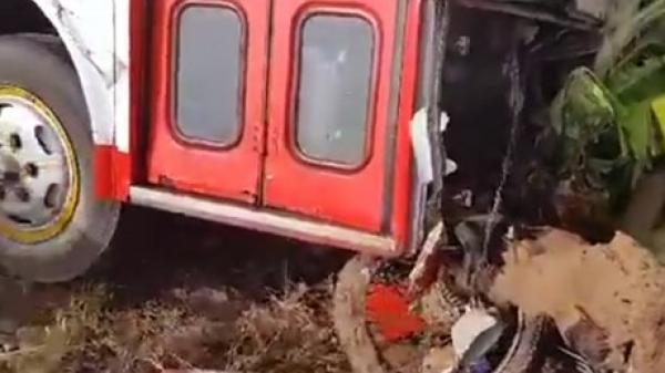 Va chạm giữa xe buýt và xe máy khiến người đàn ông ngụ Bạc Liêu tử vong, 2 người bị thương