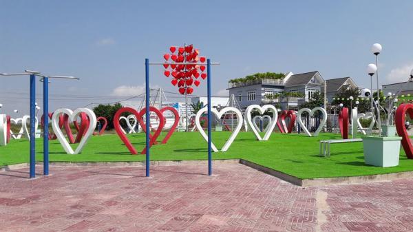 Không phải Đà Nẵng, con đường tình yêu xuất hiện ngay tại TP Bạc Liêu cho mùa Valentine năm nay