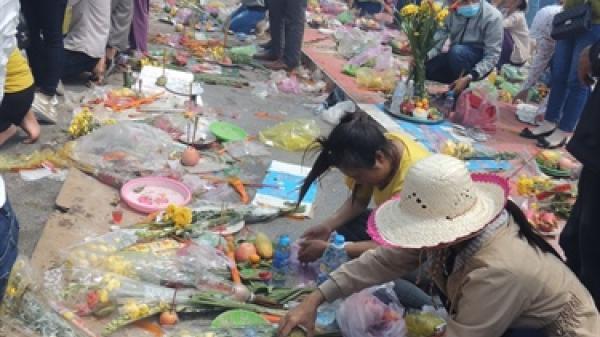 Bạc Liêu: Giật mình với những hình ảnh CỰC SỐC tại khu vực thờ cúng Phật Bà Nam Hải
