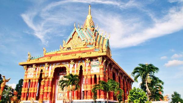 Ngắm đã mắt ngôi chùa Khmer lớn nhất Việt Nam