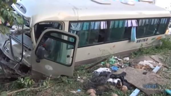 Thông tin mới vụ tài xế xe khách chạy hướng Bạc Liêu - Bình Dương tông tử vong 2 em nhỏ