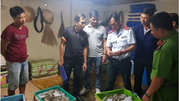 Bắt quả tang cơ sở chích tạp chất vào tôm nguyên liệu ở Bạc Liêu