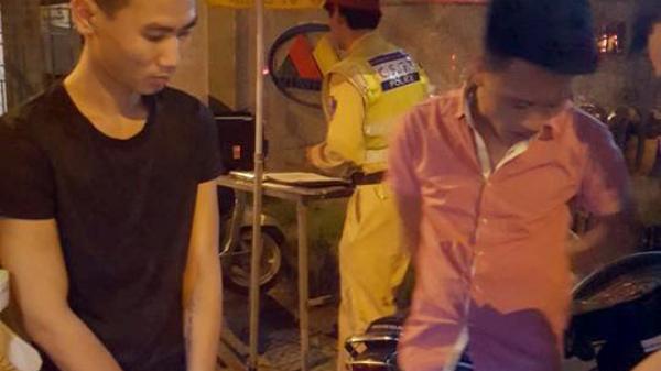 Cảnh sát 141 vây bắt 2 nghi can trộm xe máy gắn biển số Bắc Ninh giả