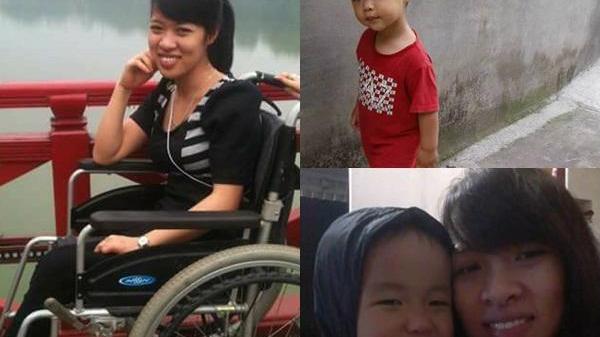 Cảm động đến mức bật khóc nghị lực của mẹ đơn thân quê Nam Định 11 năm bại liệt vất vả nuôi con