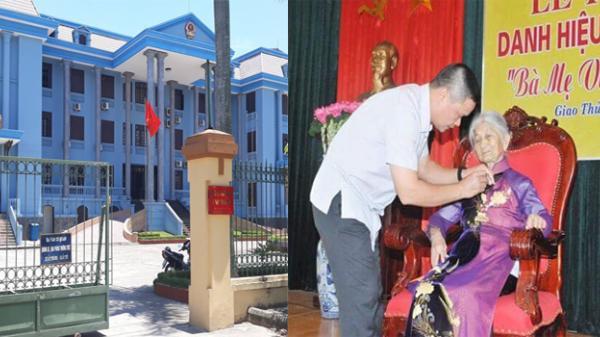 Nam Định: Xét xử vụ Mẹ Việt Nam Anh hùng khởi kiện UBND huyện Giao Thủy