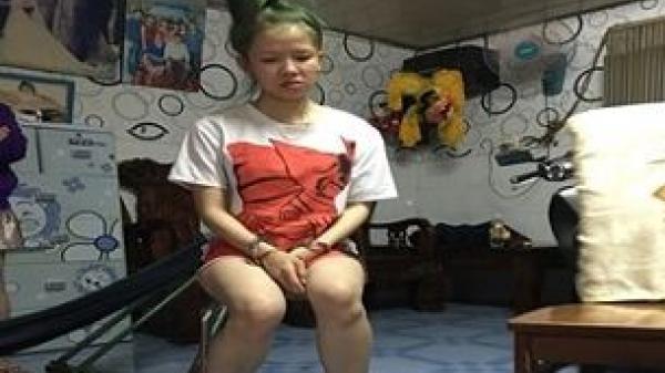 An Giang: Bắt nóng hotgirl chuyên bán 'cái chết trắng' cho nhiều người