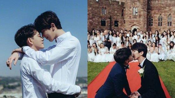 """Cặp đồng tính HOT nhất Châu Á đã chính thức về chung 1 nhà, kể chuyện đêm tân hôn khiến ai cũng """"phát sốt"""""""