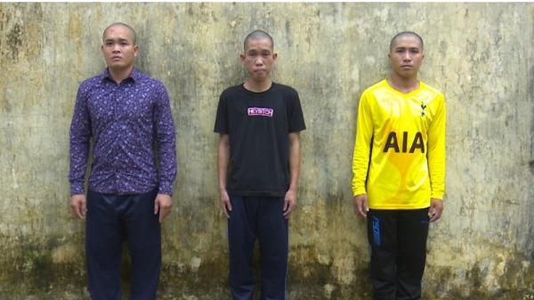 An Giang: Bắt giữ nhóm thanh niên liều lĩnh ăn trộm