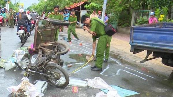 Đồng Tháp: Xe chở nước đá va chạm xe tải, người đàn ông 50 tuổi t.ử vong