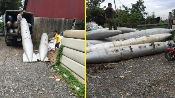 """Bắc Ninh: Người dân hoang mang sau vụ bắt 2 xe tải chở bình nhiên liệu nghi của máy bay về """"thủ phủ đồng nát"""""""