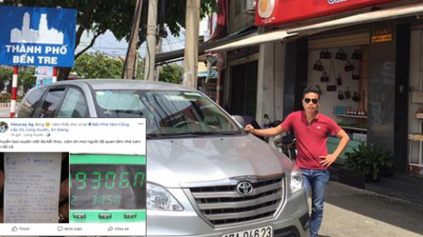 """Đã tìm ra chuyến taxi với giá cước """"KHỦNG"""" hơn cả hành trình 3.850km khứ hồi từ An Giang ra Hà Nội hết 49 triệu tiền cước"""