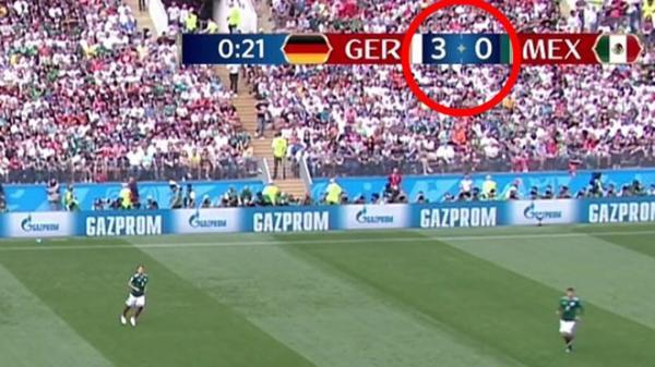 """Fans phát hiện sai lầm """"chết người"""" của FIFA ngay khi vừa vào trận, thế này bảo sao Đức thua thảm hại"""