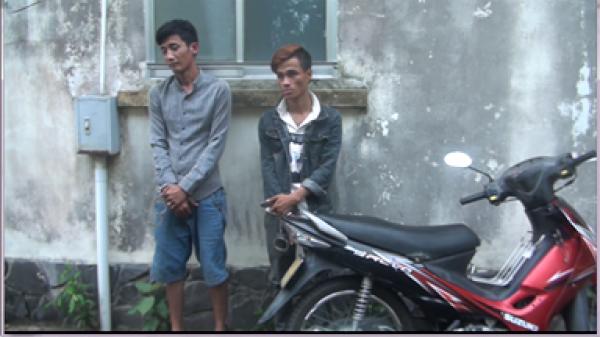 Đồng Tháp: Bắt khẩn cấp 2 đối tượng trộm nóng xe mô tô