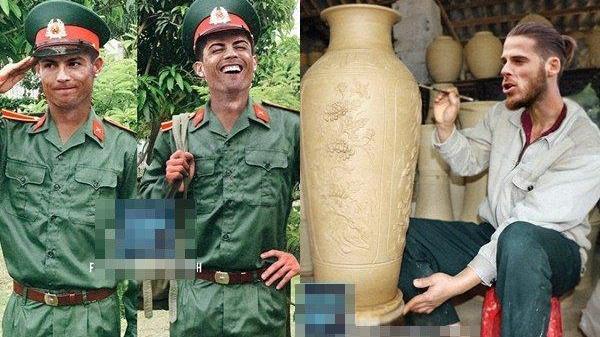 Cười'rơi răng' trước bộ ảnh các cầu thủ World Cup làm nghề gì khi về Việt Nam, kéo đến Messi chết ngất