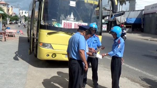 Vận tải khách ở An Giang vẫn còn diễn biến phức tạp