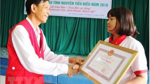 An Giang: Người phụ nữ nghèo với 28 lần hiến máu tình nguyện cứu người