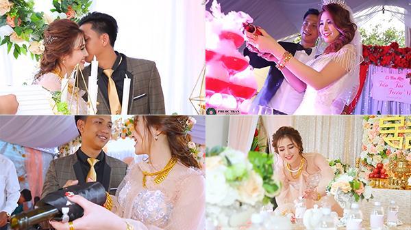 Bạc Liêu: Đám cưới CỰC HOT cô dâu xinh như thiên thần, chú rể đại gia chịu chơi hết nấc