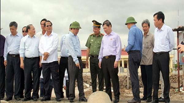 Phó Chủ tịch Quốc hội Phùng Quốc Hiển thăm và làm việc tại Bạc Liêu