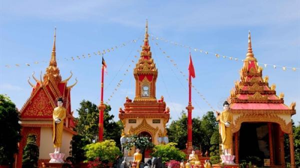Chìm đắm trong đặc sắc văn hóa của người Khmer ở Chùa Xiêm Cán
