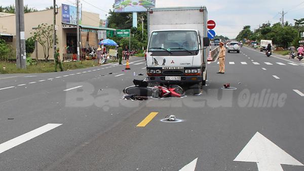 Vĩnh Lợi (Bạc Liêu): Lập lại trật tự an toàn giao thông trên tuyến Quốc lộ 1A