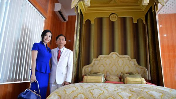 """Kinh ngạc những """"siêu giường"""" bạc tỷ của đại gia Việt"""