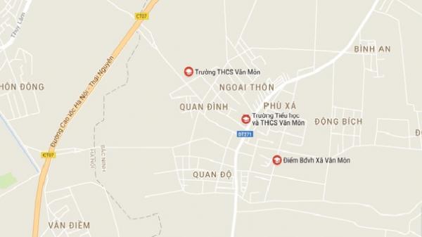 NÓNG: Sập lan can trường Tiểu học Văn Môn, Bắc Ninh, 13 trẻ nhập viện