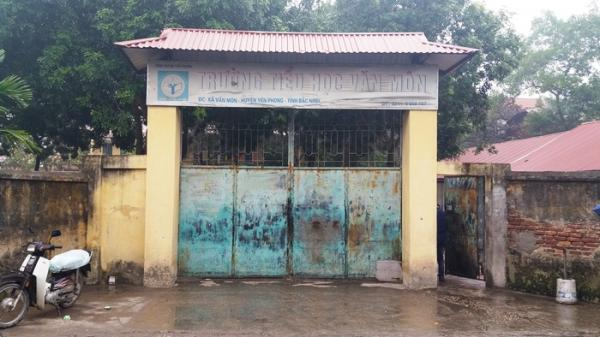Vụ sập lan can trường học ở Bắc Ninh: Cơ sở vật chất xuống cấp nghiêm trọng