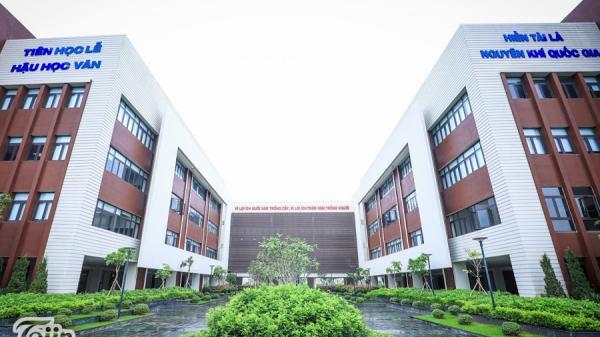 Bắc Ninh: Ngắm toàn cảnh ngôi trường 600 tỷ hiện đại nhất Việt Nam ai cũng ước được học một lần