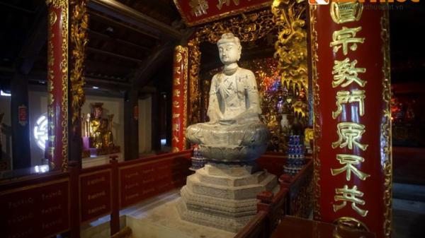 Chiêm ngưỡng tượng Phật bằng đá thời Lý lớn nhất Việt Nam