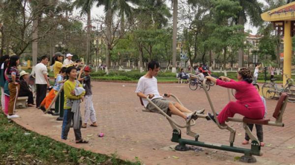 HOT: Bắc Ninh sẽ lắp đặt thiết bị thể thao công cộng miễn phí tại tất cả 19 xã, phường