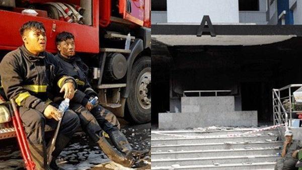 Một Đại úy Cảnh sát PCCC bị tạm ngưng công tác sau vụ cháy chung cư Carina Plaza